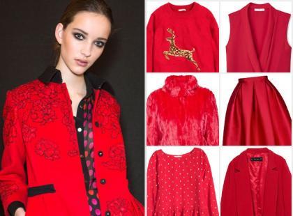 Poczuj magię świąt! 25 najładniejszych ubrań i dodatków w czerwonym kolorze