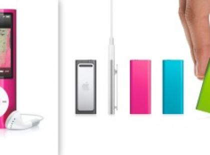 Podaruj odrobinę miłości z iPod shuffle i iPod nano