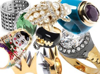 Podbiły nasze serca: 25 maksymalnych pierścionków