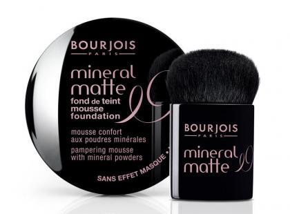 Podkład Mineral Matte Bourjois - nowość
