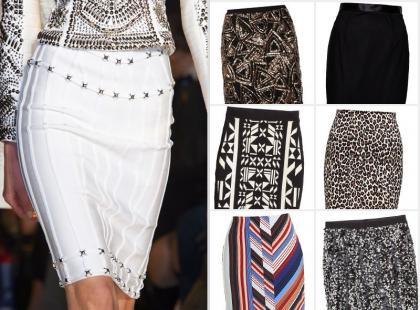 Podkreślamy kształty - 17 ołówkowych spódnic z najnowszych kolekcji