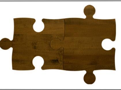 Podłoga niczym puzzle