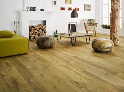 Podłogi w stylu vintage marki Barlinek
