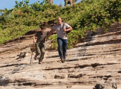Podróż na Tajemniczą Wyspę (reż. Brad Peyton)