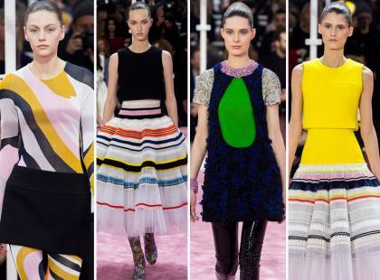 Podróż przez dekady w kolekcji haute couture od Christiana Diora