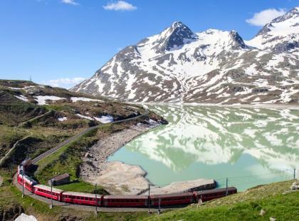 Podróżnicze inspiracje: koleją przez Szwajcarię