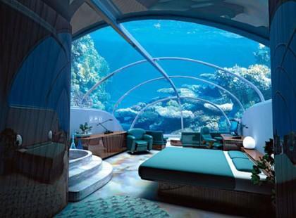 Podwodny hotel w Stambule