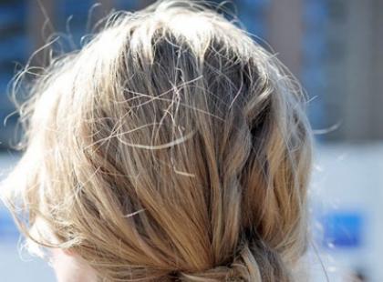 Podwójny węzeł - hit fryzjerski 2011