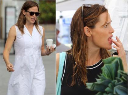 Pognieciona sukienka, nieświeże włosy... Co się dzieje z Jennifer Garner?