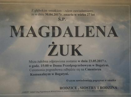 Pogrzeb Magdaleny Żuk. Przed uroczystością nie obyło się bez skandalu