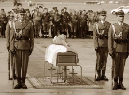 Pogrzeb pary prezydenckiej na Wawelu