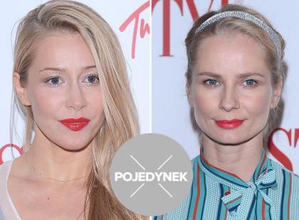 Pojedynek gwiazd: Agnieszka Warnke kontra Magdalena Cielecka