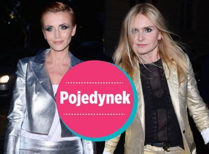 Pojedynek: Metaliczny połysk w wydaniu Zielińskiej i Olejnik