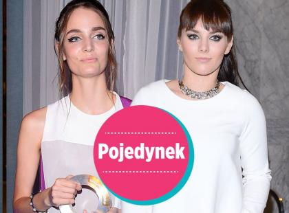 Pojedynek na białe sukienki: modelka vs. wokalistka
