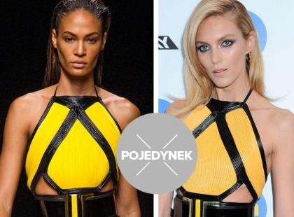Pojedynek top modelek: Joan Smalls vs Anja Rubik