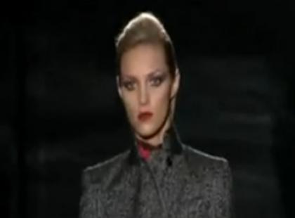 Pokaz Gucci jesień - zima 2009/2010