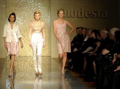 Pokaz kolekcji Modesta lato 2009