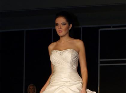 Pokaz marki Veromia podczas Festiwalu Mody Ślubnej na Torwarze