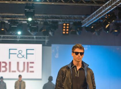 Pokaz męskiej kolekcji F&F Blue i F&F - wiosna/lato 2010