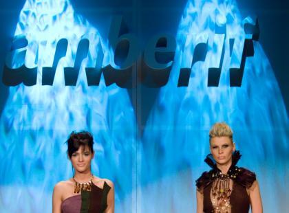 Pokaz mody i bursztynu AMBERIF 2007 - kolekcja Agnieszka Gruszka i Aleksander Gliwiński