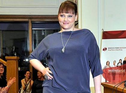 Pokaz mody plus size - metamorfozy Dress for Success