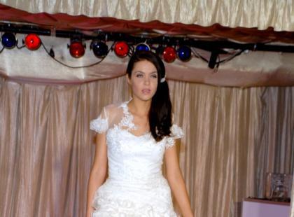 Pokaz mody ślubnej Violetty Piekut