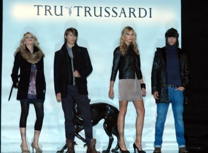 Pokaz Tru Trussardi - jesień-zima 09/10