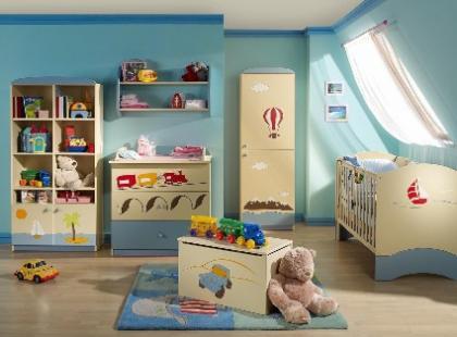 Pokój dziecka inspiruje jego zainteresowania