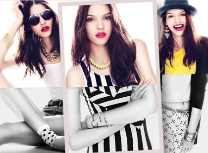 Pokoloruj swój styl dodatkami z H&M na lato 2013