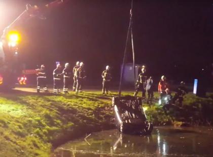 Polacy bohaterami w Holandii! Uratowali ojca i trójkę dzieci. Jest wideo z miejsca wypadku