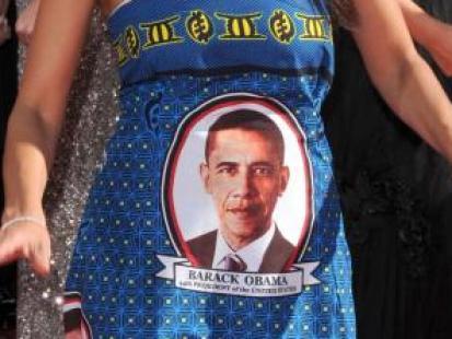 Polityczne sukienki gwiazd