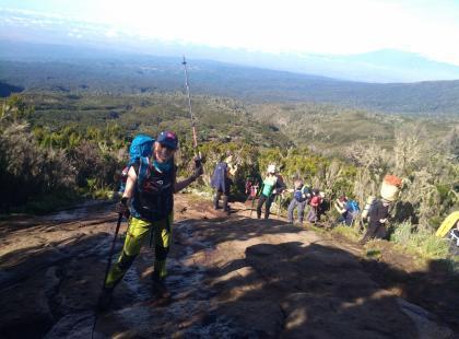 Polki na Kilimandżaro - jak wygląda życie w obozie w wysokich górach