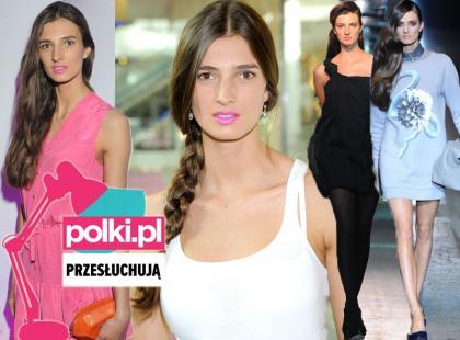 Polki.pl przesłuchują top modelkę Kamilę Szczawińską