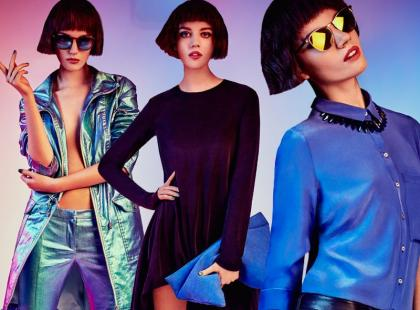 Polska top modelka w lookbooku Mohito Gold Label