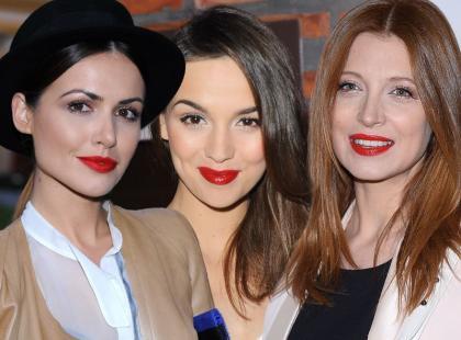 Polskie gwiazdy kochają czerwone szminki!