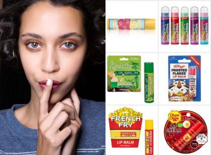 Pomadki do ust o zapachach inspirowanych jedzeniem