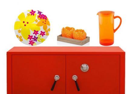 Pomarańcz i cytryna - kolorowe dodatki do wnętrz