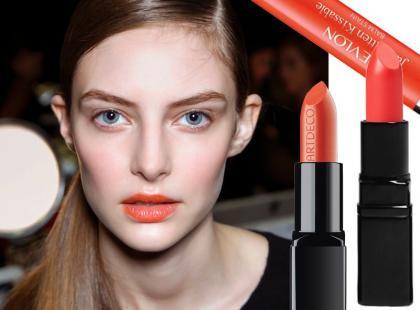 Pomarańczowa szminka to hit wiosny!