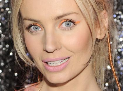 Pomarańczowy makijaż Agnieszki Szulim (foto!)