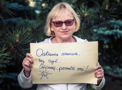 """""""Pomóż mi w końcu ostatecznie pokonać śmierć"""" – zbieramy pieniądze na leczenie dla pani Małgorzaty!"""