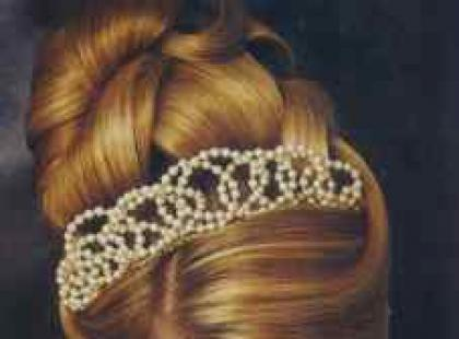Pomysł na ślubną fryzurę
