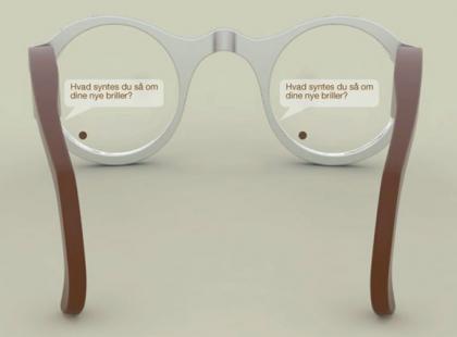Pomysłowe okulary dla niesłyszących