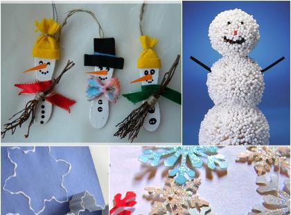 Pomysły na zimowe prace plastyczne dla dzieci