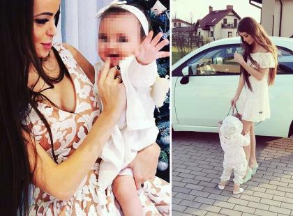 Popularna instagramerka znęcała się nad półtoraroczną córką. Sąd właśnie zdecydował o odebraniu jej dziecka