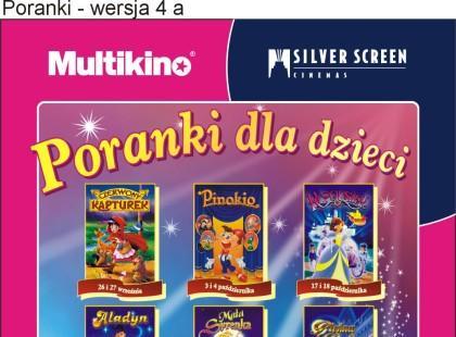 Poranki dla najmłodszych - Multikino i Sliver Screen