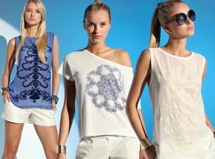 Porcelanowy trend od Top Secret na lato 2013