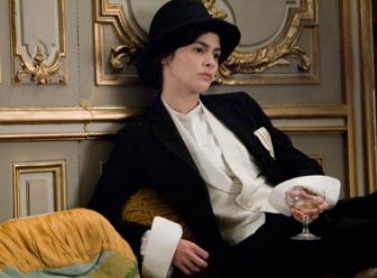 Portret kobiety w kinie