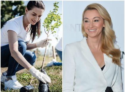 Posadzą miliony nowych drzew! Martyna Wojciechowska wspiera ważną akcję