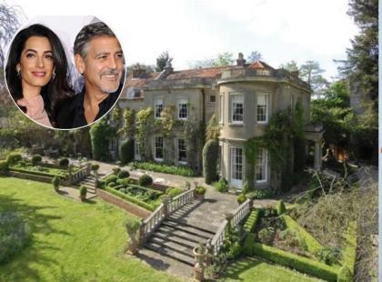 Posiadłość jak marzenie! Zobacz, jak mieszkają Clooneyowie