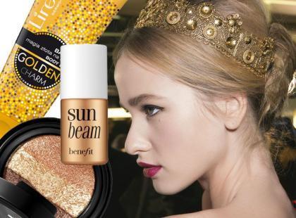 Postaw na kolor! Złote kosmetyki na lato 2014